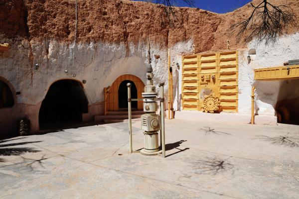 Yıldız Savaşlarından Luke Skywalkerin Tunustaki evi